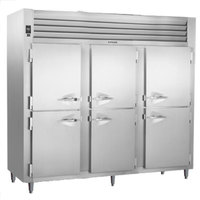 Traulsen RHT332WPUT-HHS Stainless Steel Half Door Three Section Pass-Through Refrigerator - Specification Line