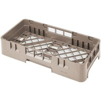 Cambro HBR258184 Beige Camrack Customizable Half Size Open Base Rack