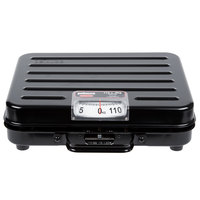 Rubbermaid FGP114S Pelouze 114 kg. Metric Mechanical Receiving Scale - Briefcase