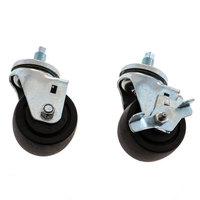 Hoshizaki 4A1347-03 Caster (2-1lock/1 Nolock) - 2/Pack