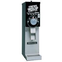 Grindmaster 875S Black ETL Slimline 3 lb. Coffee Grinder - 115V