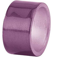 Tabletop Classics AC-6512PL Purple 1 3/4 inch Round Acrylic Napkin Ring