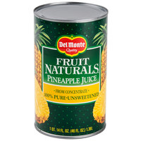 46 oz. Canned Pineapple Juice - 12/Case