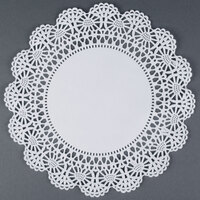 Hoffmaster 500239 12 inch Lace Doily - 1000 / Case
