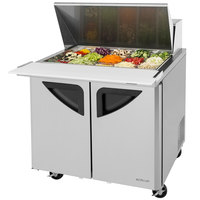 Turbo Air TST-36SD-15 36 inch 2 Door Mega Top Refrigerated Sandwich Prep Table