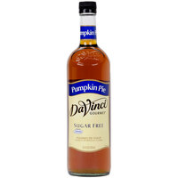 DaVinci Gourmet 750 mL Pumpkin Pie Sugar Free Coffee Flavoring Syrup