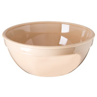 Carlisle PCD31925 Tan 15 oz. 5 1/4 inch Polycarbonate Bowl - 48/Case