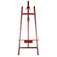 23 inch x 62 inch Adjustable Wooden Easel