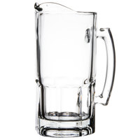 Libbey 5263 Gibraltar 1 Liter Glass Pitcher   - 12/Case