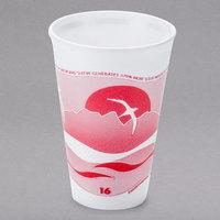 Dart 16LX16H 16 oz. Horizon Foam Cup - 1000/Case