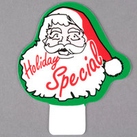 Santa Deli Tag Topper - HOLIDAY SPECIAL - Green, Red, and Black