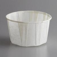 Genpak F325 Harvest Paper 3.25 oz. Compostable Souffle / Portion Cup - 5000/Case