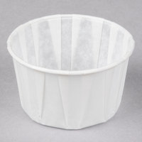 Genpak F325 3.25 oz. Harvest Paper Souffle / Portion Cup - 5000/Case