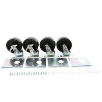 Beverage-Air 61C01S003A Plate Caster Kit W/ 5 In
