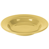 Homer Laughlin 451320 Fiesta Sunflower 13.25 oz. Rim Soup Bowl - 12/Case