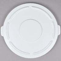 Rubbermaid FG265400WHT BRUTE White 55 Gallon Trash Can Lid