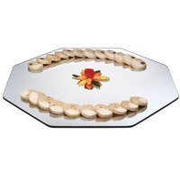 Cal-Mil PT151 15 inch Octagonal Mirror Tray