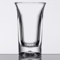 GET SW-1431 (SW1431) Customizable SAN Plastic 1 oz. Shooter Glass - 48/Case
