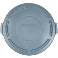 Rubbermaid FG263100GRAY BRUTE 32 Gallon Gray Trash Can Lid