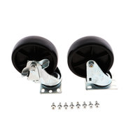 Nor-Lake 145832 Ft-Caster Kit 6-In (5in Wheel)
