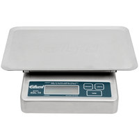 Edlund EDL-10 OP Rechargeable 10 lb. Digital Portion Control Scale with Oversized 7 inch x 8 3/4 inch Platform