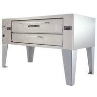 Bakers Pride Y-600 Super Deck Y Series Liquid Propane Single Deck Pizza Oven 60 inch - 120,000 BTU