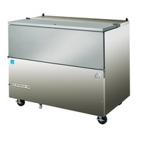 Beverage-Air SM58N-S 58 1/2 inch Stainless Steel 1-Sided Cold Wall Milk Cooler