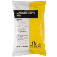 Chef's Companion 15 oz. Chicken Gravy Mix - 8/Case
