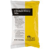 Chef's Companion 15 oz. Chicken Gravy Mix   - 8/Case