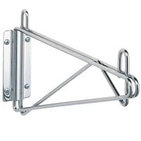 Metro 1WD18C Super Erecta Chrome Single Direct Wall Mount Bracket for 18 inch Shelf
