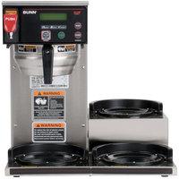 Bunn 38700.0076 BrewWise Axiom DV-3 12 Cup RFID Coffee Brewer with 3 Lower Warmers - Dual Voltage