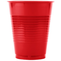 Creative Converting 28103181B 16 oz. Classic Red Plastic Cup - 50 / Pack