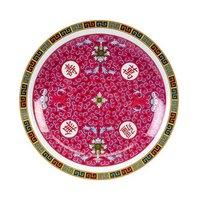 Longevity 14 3/8 inch Round Melamine Plate - 12/Pack
