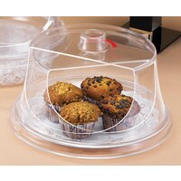 Cal Mil 302-10 Turn N Serve Colonial Sample / Pastry Tray Cover 10 inch