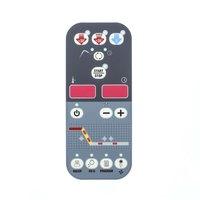 Delfield BCP00095 Membrane,Push Button