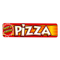 APW Wyott 21765300 Replacement Pizza Decal for HDC-4 and HDC-4P Heated Display Cases