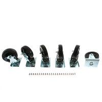 Traulsen CK4 Caster Kit, Vps(6)