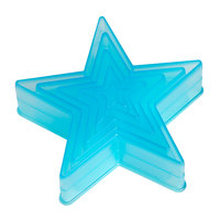 Ateco 5750 5-Piece Polycarbonate Plain Star Cutter Set (August Thomsen)