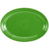 Homer Laughlin 456324 Fiesta Shamrock 9 5/8 inch Small Oval Platter - 12/Case