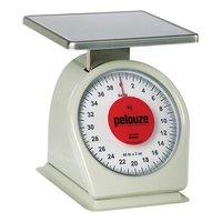 Rubbermaid Pelouze 840W 40 lb. Portion Scale - 9 inch x 9 inch Platform (FG840W)