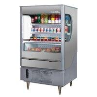 Beverage Air (Bev Air) VM12-1-G Gray VueMax Air Curtain Merchandiser 35 inch - 12 Cu. Ft.