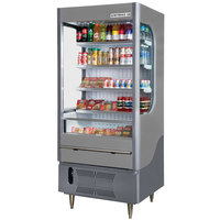 Beverage-Air VM12-1-G VueMax 35 inch Gray Air Curtain Merchandiser