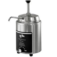 Star 4RW-P 4 Qt. Stainless Steel Food Warmer with Pump - 120V
