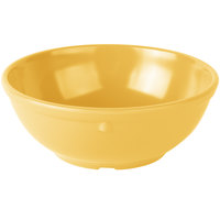 Carlisle 4385822 Honey Yellow Dayton 16 oz. Nappie Bowl - 48/Case