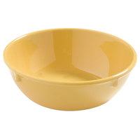 Carlisle 4385822 Honey Yellow Dayton 16 oz. Nappie Bowl - 48/Case