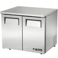 True TUC-36-LP 36 inch Low Profile Undercounter Refrigerator
