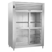Traulsen RHT232WUT-HSL 58 inch Stainless Steel Sliding Glass Half Door Reach In Refrigerator - Specification Line