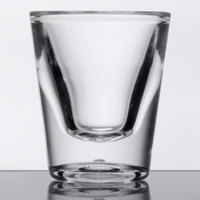 GET SW-1427 (SW1427) Customizable SAN Plastic 1 oz. Shot Glass - 24/Case