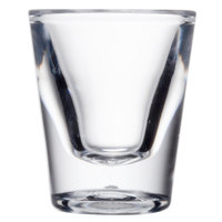 GET SW-1427 (SW1427) SAN Plastic 1 oz. Shot Glass - 24/Case