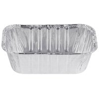 D&W 1 lb. Foil Bread Loaf Pan - 50/Pack